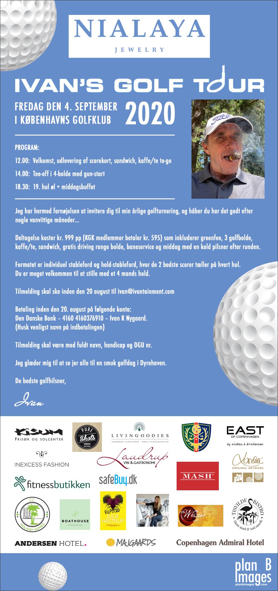 Ivan's Golf Tour 2020